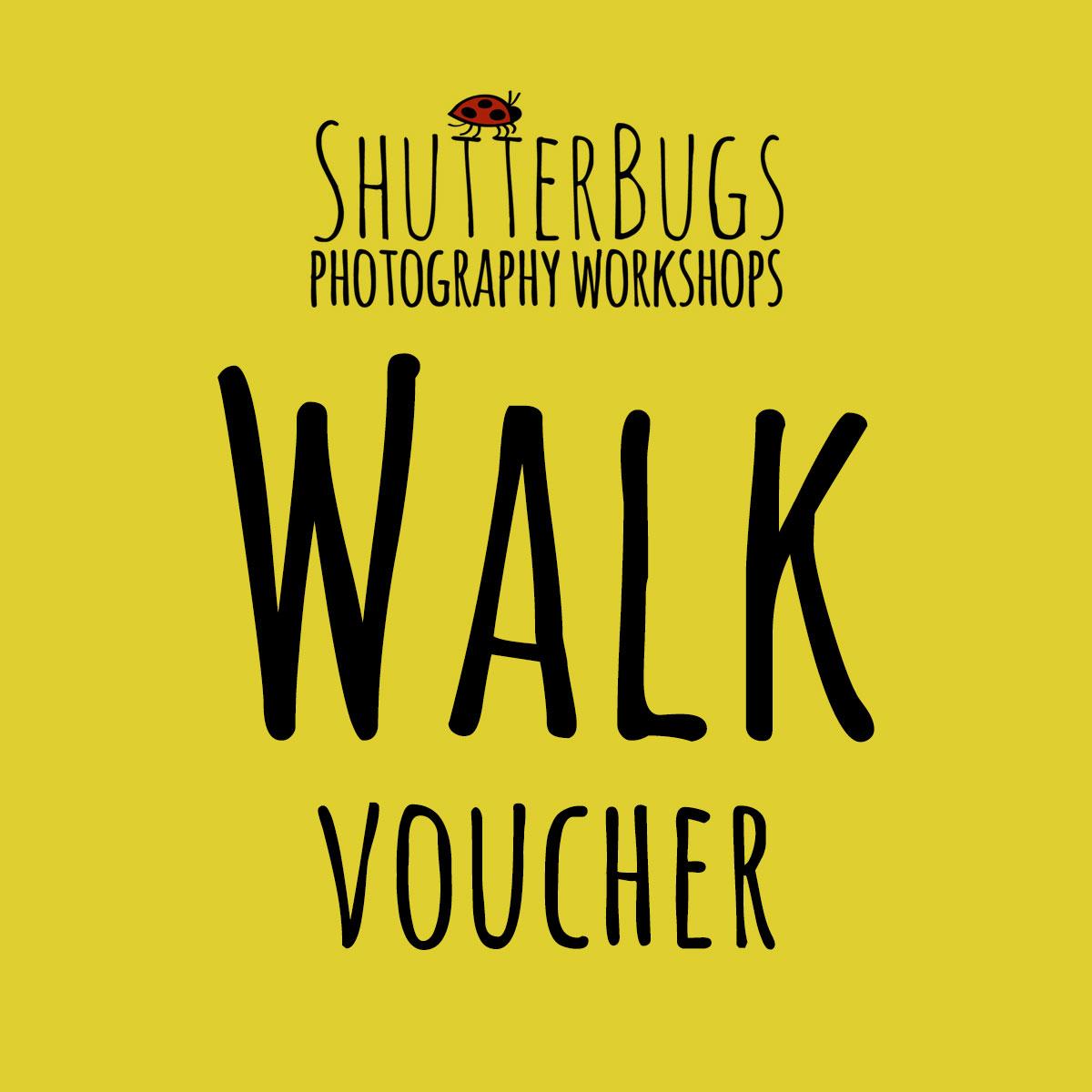 Shutter Bugs Walk Voucher